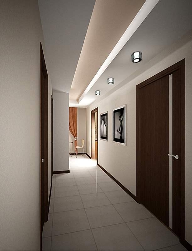 объявления натяжной потолок в узкой прихожей дизайн фото прекрасная